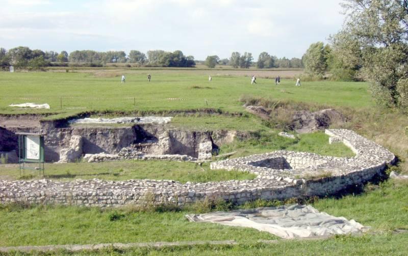 A tábor romjai